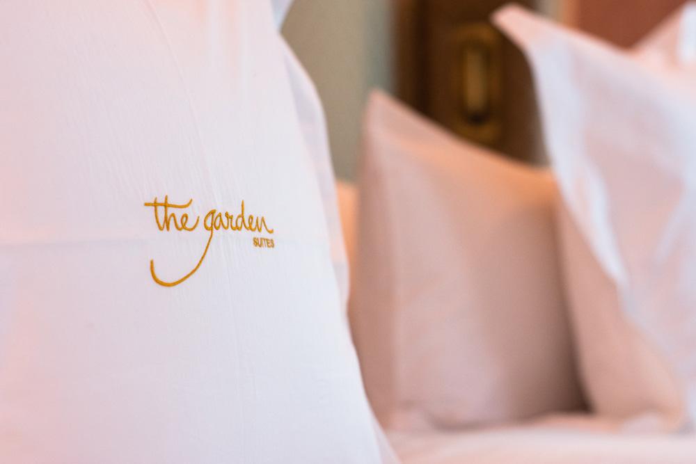 Ropa cama The Garden Suites